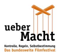 """Logo des dieGesellschafter.de-Filmfestivals """"ueber Macht"""""""